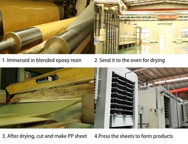 Color G10 laminate production process